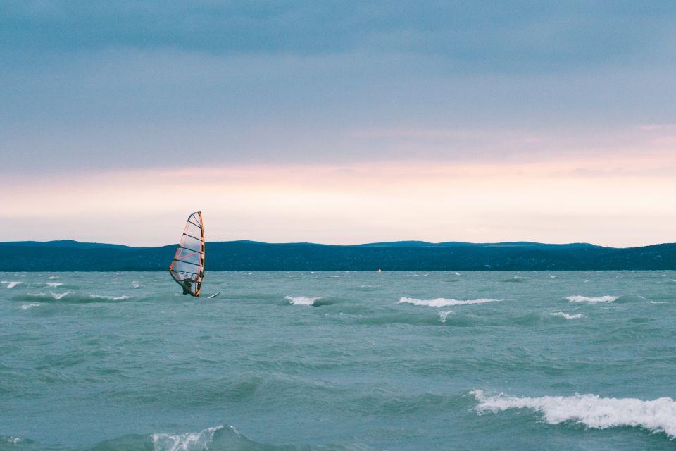 Les paysages, Hongrie, europe, lac, balaton, Tihany, planche à voile, glisse, sport, windsurf