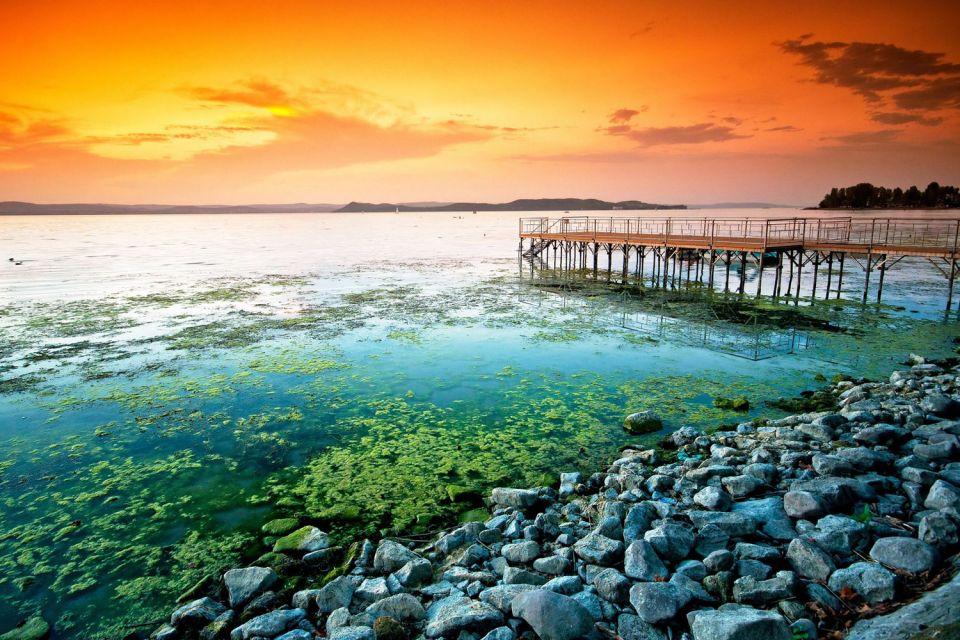 El lago Balatón , Los yacimientos arqueológicos , Hungría