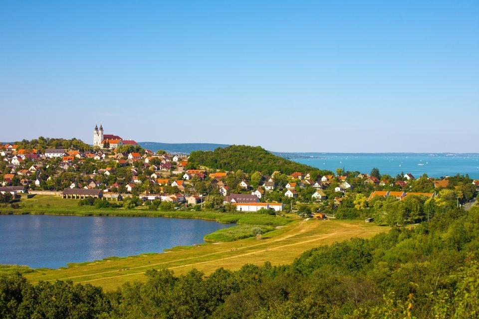 Las ciudades de Transdanubia, Hungría, El Transdanubio, Los paisajes, Hungría