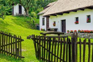 Les paysages, Holloko, hongrie, UNESCO, ferme, World Heritage, agriculture, europe