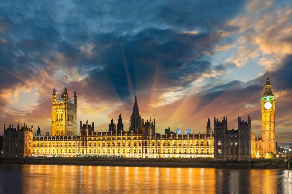 I siti storici lungo il Tamigi. , Londra , Regno Unito