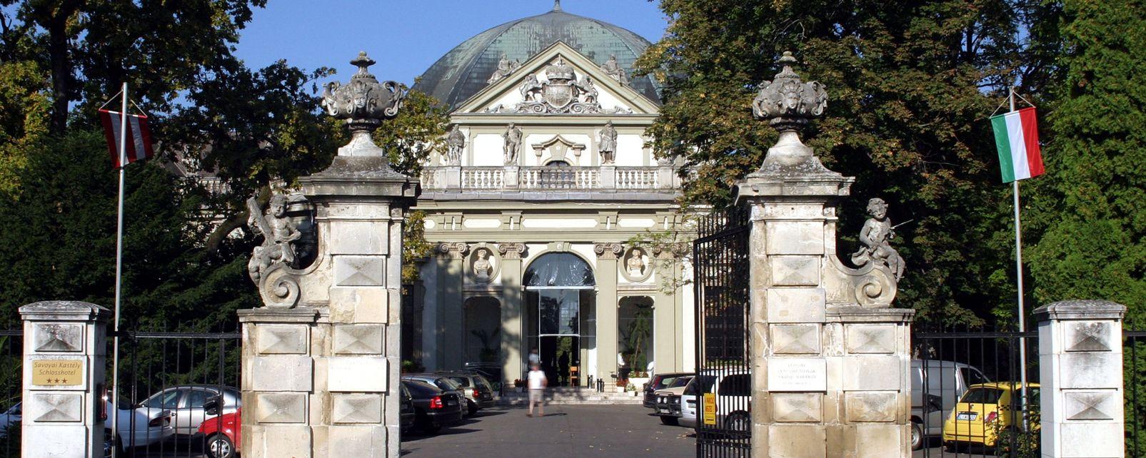 Les monuments, Savoyai, chateau, palais, Ráckeve, Hongrie, Europe
