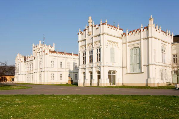 Les monuments, chateau, Europe, Hongrie, Beethoven, Brunszvik, Martonvasar, parc