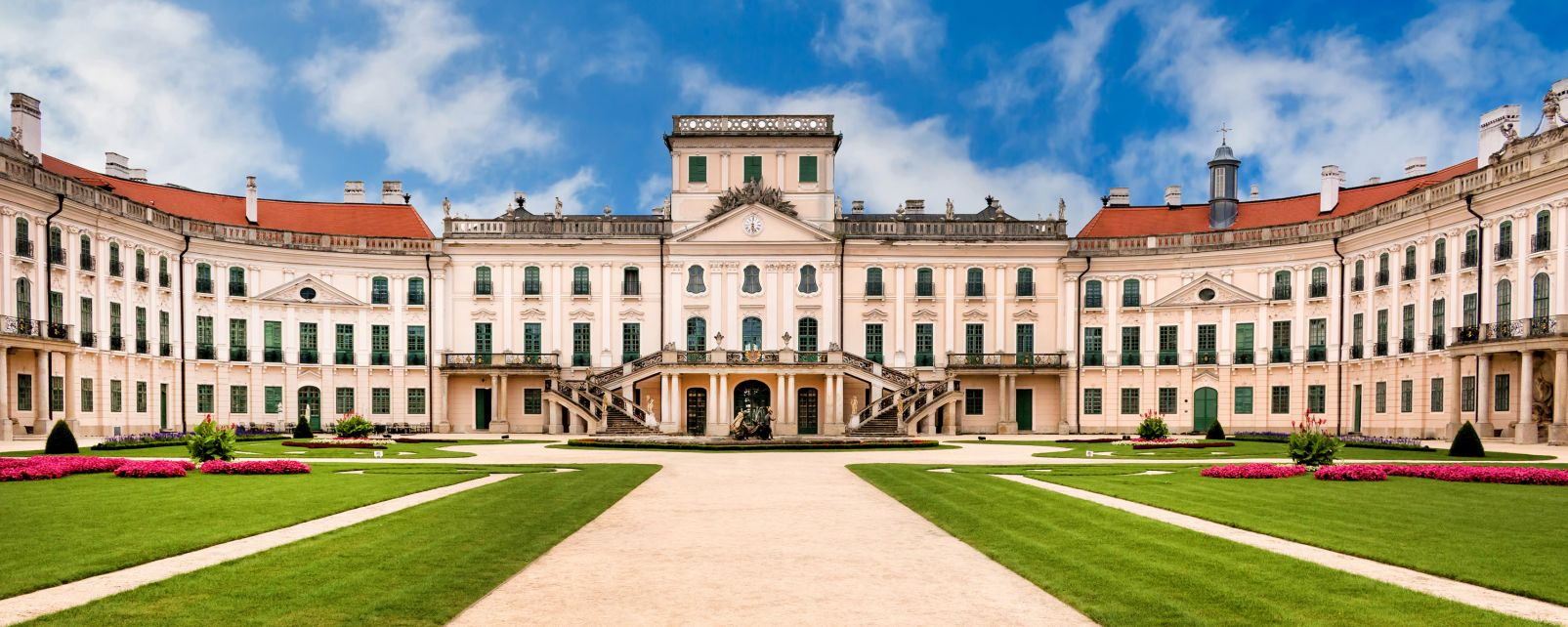Les monuments, fertod, haydn, hongrie, monument, europe, esztherary, chateau, palais, rococco