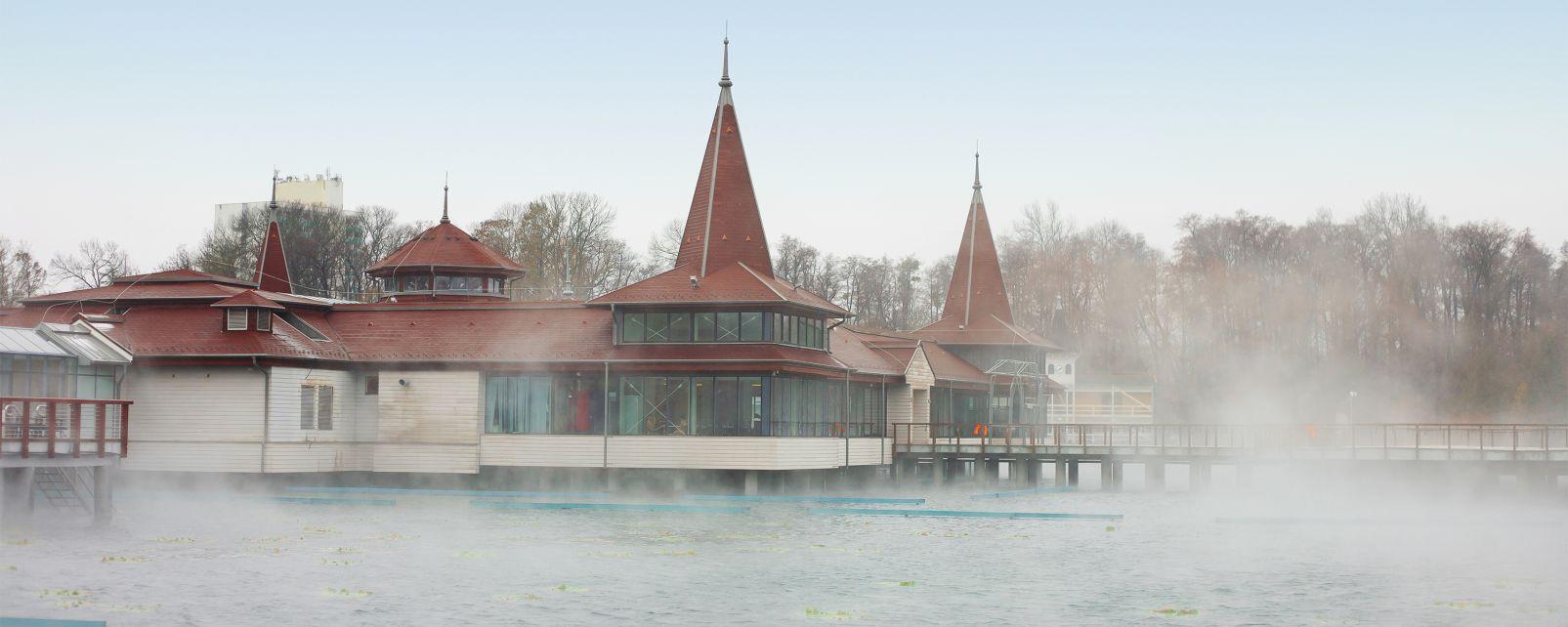 Hungría occidental, Los balnearios termales del oeste, Los balnearios, Hungría