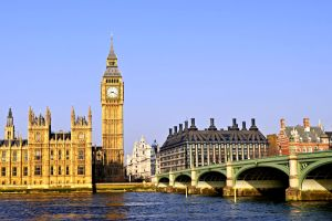 The Houses of Parliament, London, Big Ben, Monuments, London, England
