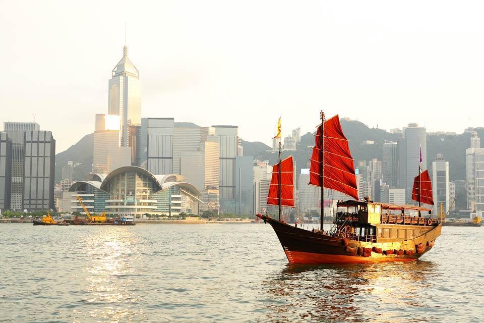 Coastal navigation on the islands , Coasting along the archipelago of Hong Kong , Hong Kong