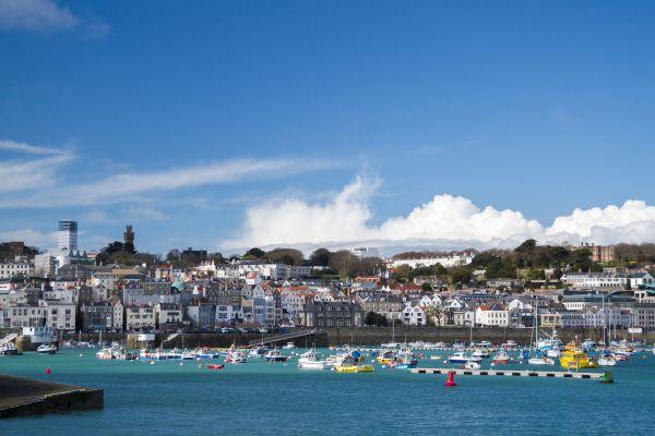 Fishing ports, farmlands , The Channel Islands, United Kingdom , United Kingdom