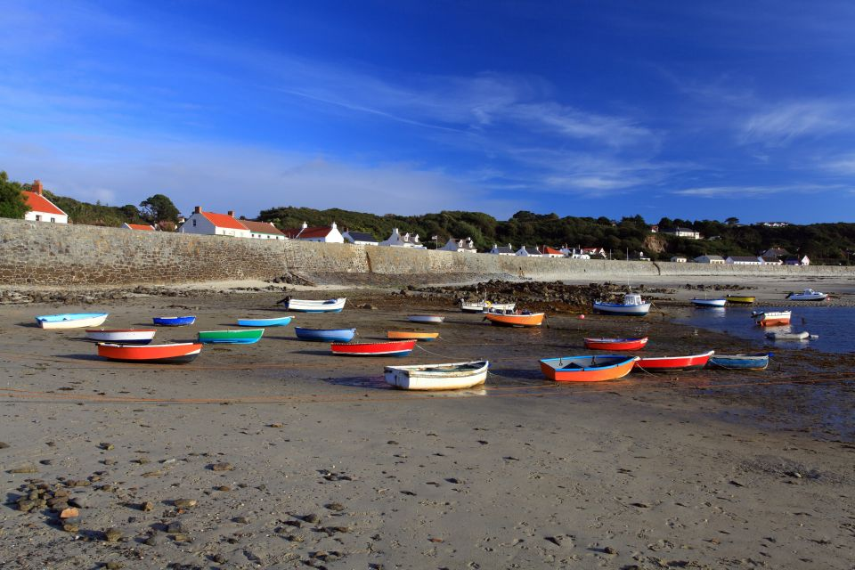, Guernsey, Le rive, Isole Normanne