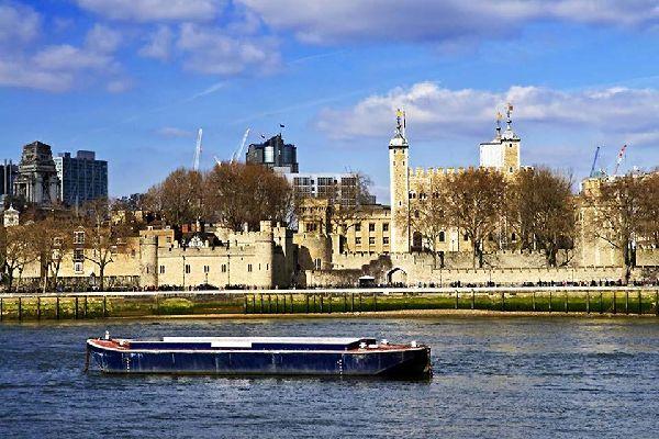 La torre de Londres , La torre de Londres en Inglaterra , Reino Unido