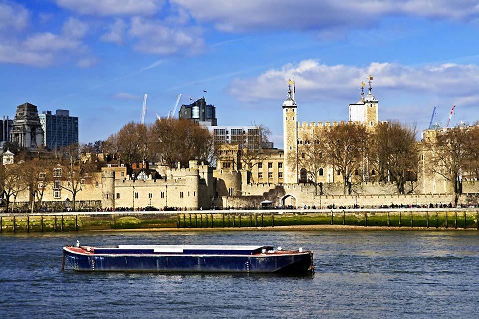 La torre di Londra , La torre di Londra in Inghilterra , Regno Unito