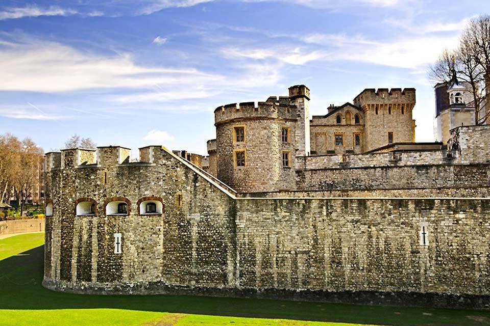 Der Tower von London , The Tower of London , Großbritannien