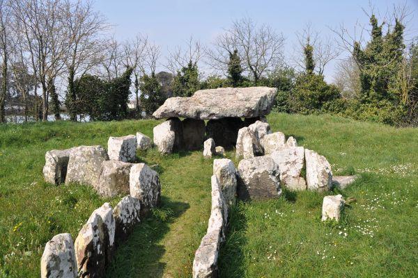 Los dólmenes de Jersey , Dólmenes en Jersey, islas Anglonormandas , Reino Unido