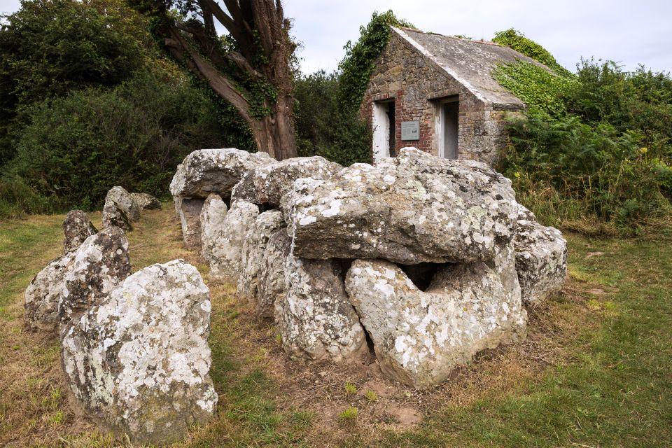 , Die Dolmen von Jersey, Die Monumente, Kanalinseln
