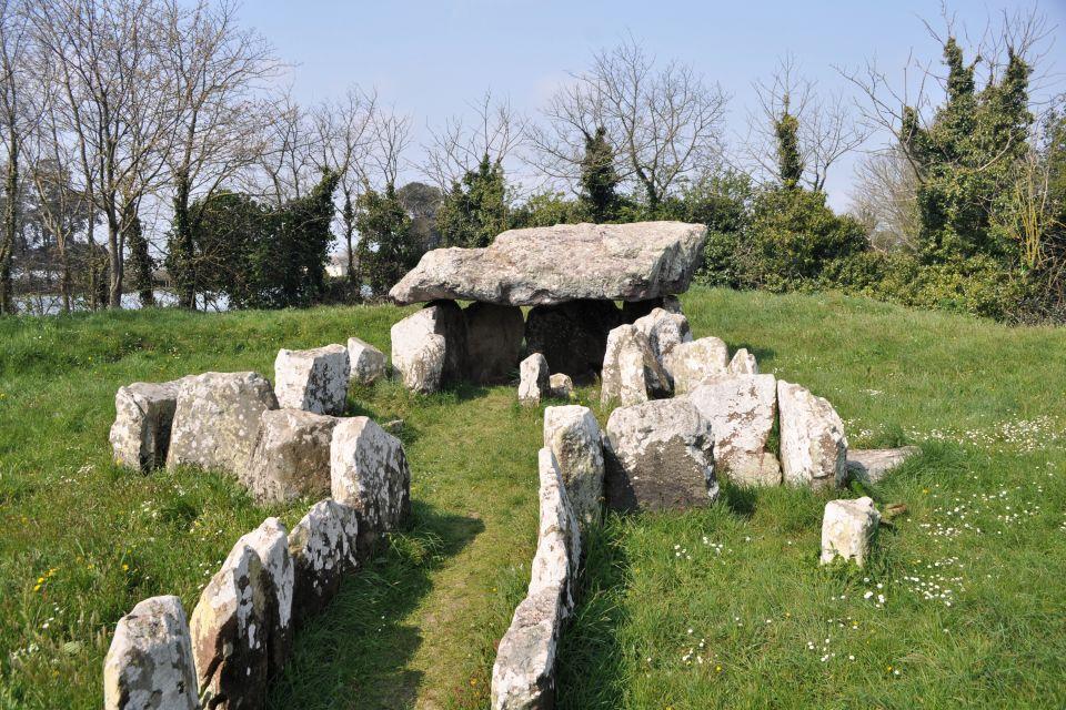 Dolmen auf Jersey, Kanalinseln, Die Dolmen von Jersey, Die Monumente, Kanalinseln