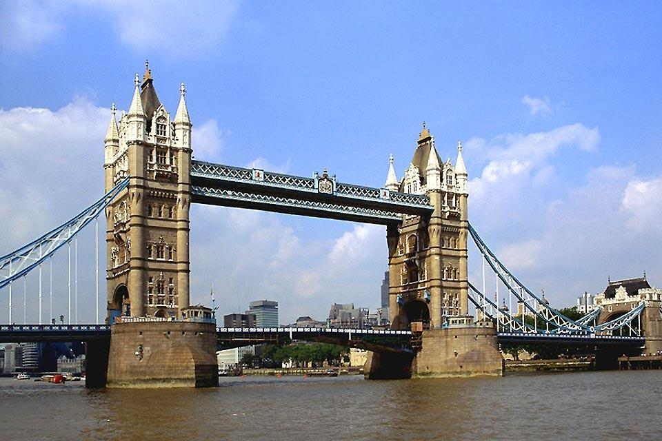 Le Tower Bridge , Le Tower Bridge de Londres en Angleterre , Royaume-Uni