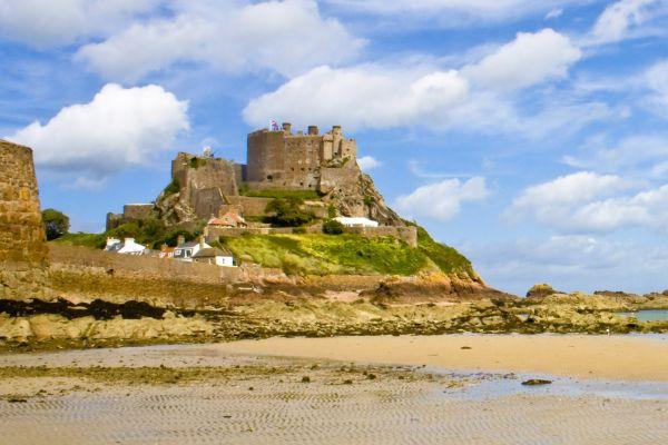 Mont-Orgueil Castle (Jersey) , Mont-Orgueil Castle, Jersey, Channel Islands , United Kingdom