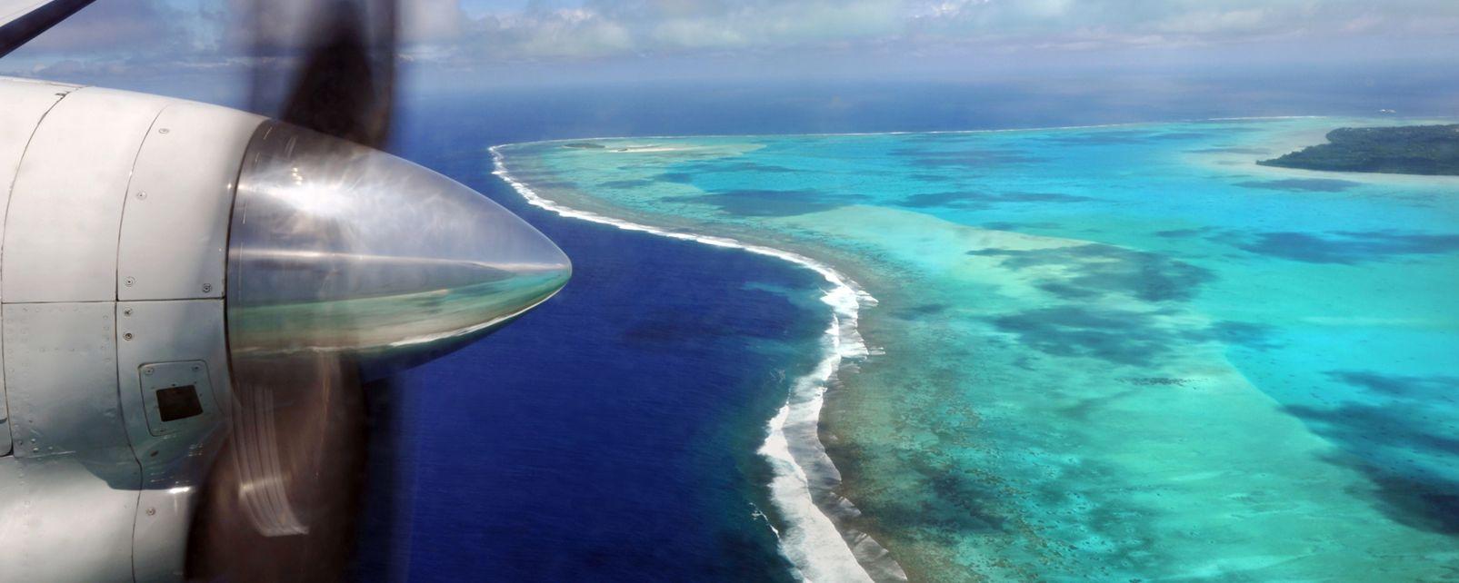 Les paysages, Rarotonga, Cook, îles, pacifique, île
