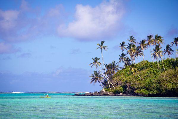 Vela en Rarotonga, Las actividades náuticas en Rarotonga, Las costas, Islas Cook