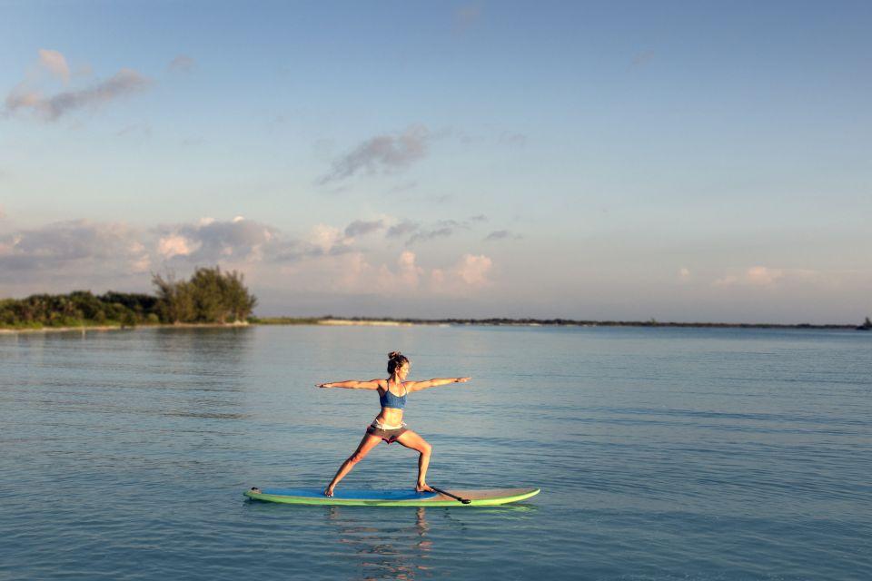 Les côtes, Micronésie, Cook, île, îles, nautisme, bateau, paddle, gymnastique, yoga, sport, Pacifique