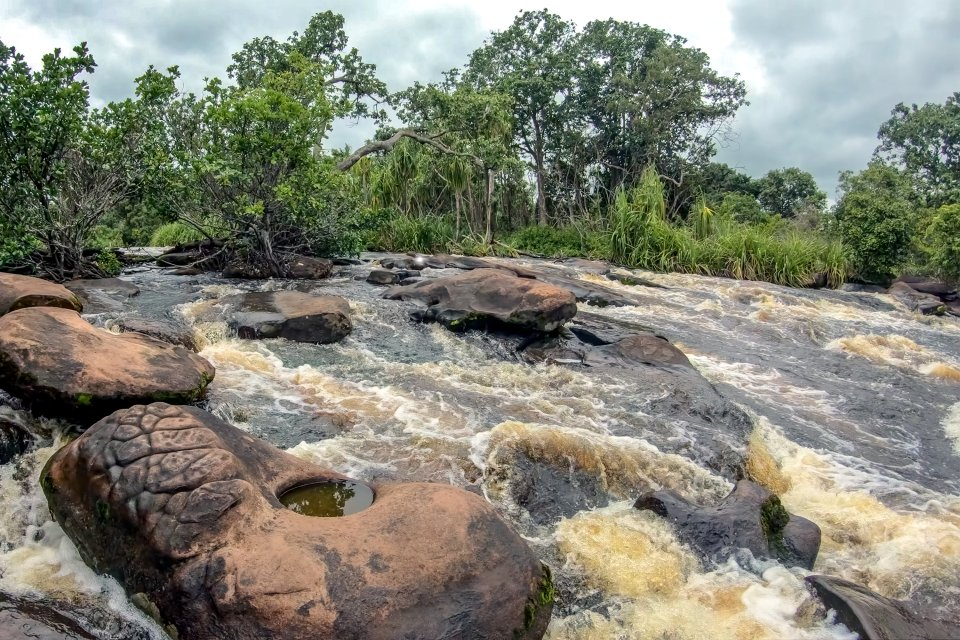, Las cataratas de Kalandula, Los paisajes, Angola