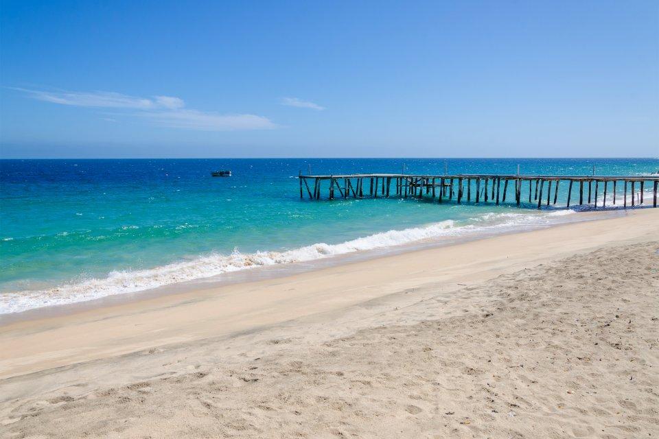 Las playas, Las costas, Angola