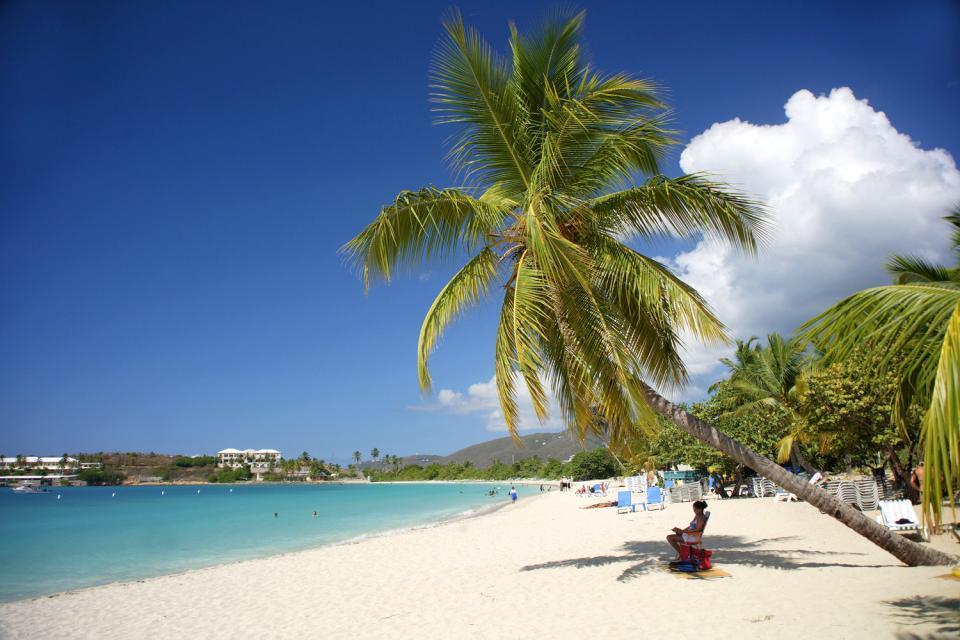 La isla de Santo Tomás , Islas Vírgenes Americanas