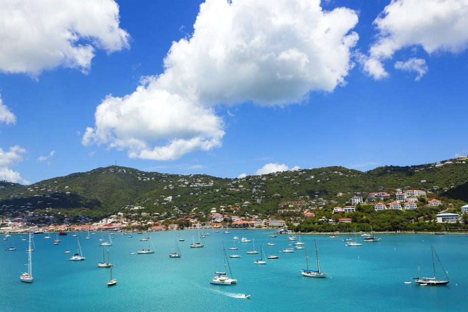 Saint Thomas Amerikanische Jungferninseln in der Karibik