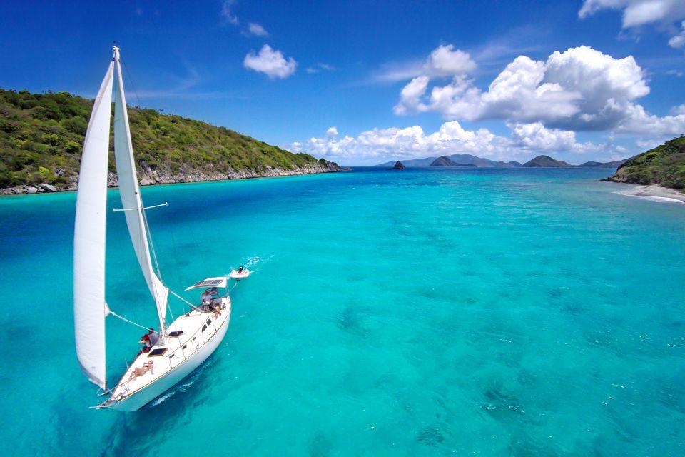 La isla de Saint Thomas, La isla de Santo Tomás, Los paisajes, Islas Vírgenes Americanas