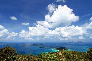L'île de St-John , Iles Vierges américaines