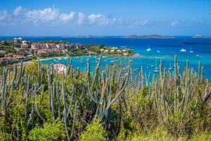 L'île Sainte Croix, L'île Ste-Croix, Les paysages, Iles Vierges américaines