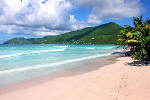 Le spiagge di Tortola , Isole Vergini britanniche