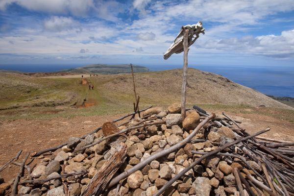 Maunga Terevaka, Il monte Maunga Terevaka, I paesaggi, Isola di Pasqua