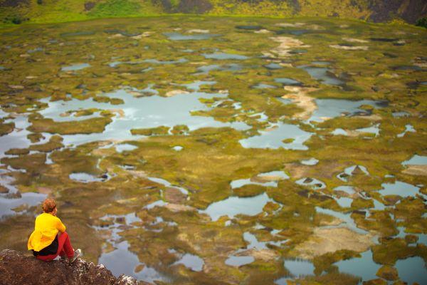 , Rano Kau Volcano, Landscapes, Easter Island