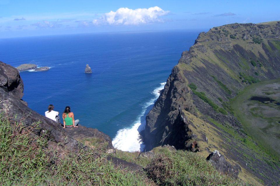 , El volcán Rano Kau, Los paisajes, Isla de Pascua