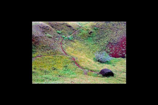 La cantera de Puna Pau , Puna Pau , Chile