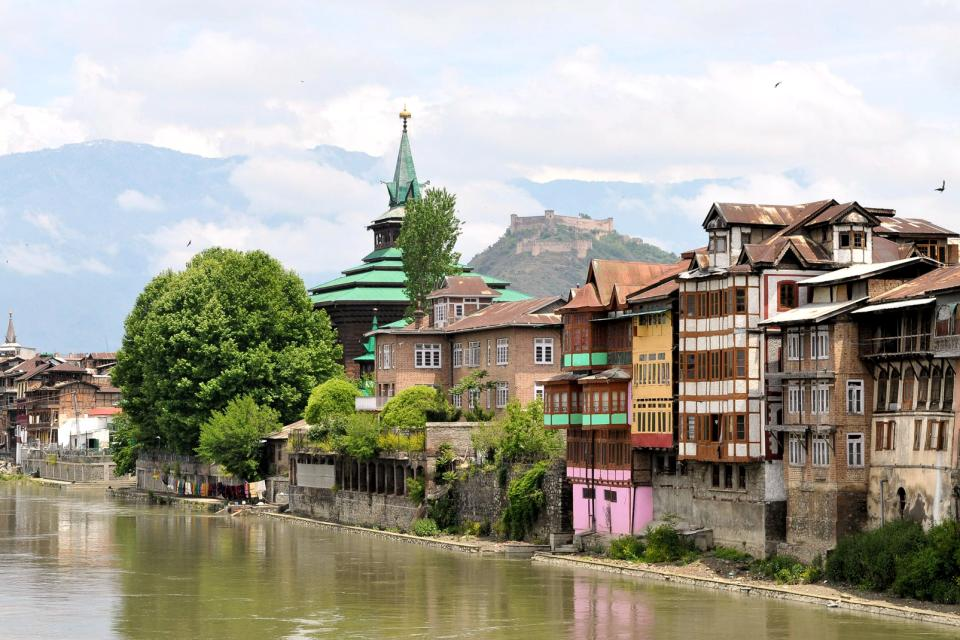 The Kashmir valley , A valley with many religions , India
