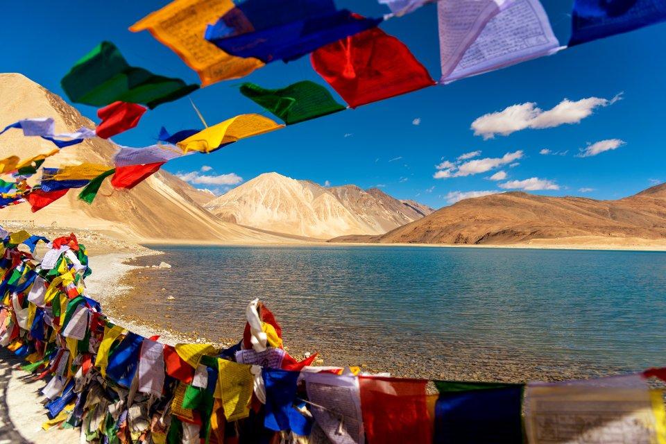Las llanuras de Jammu , El lago Tso Moriri, la India , India