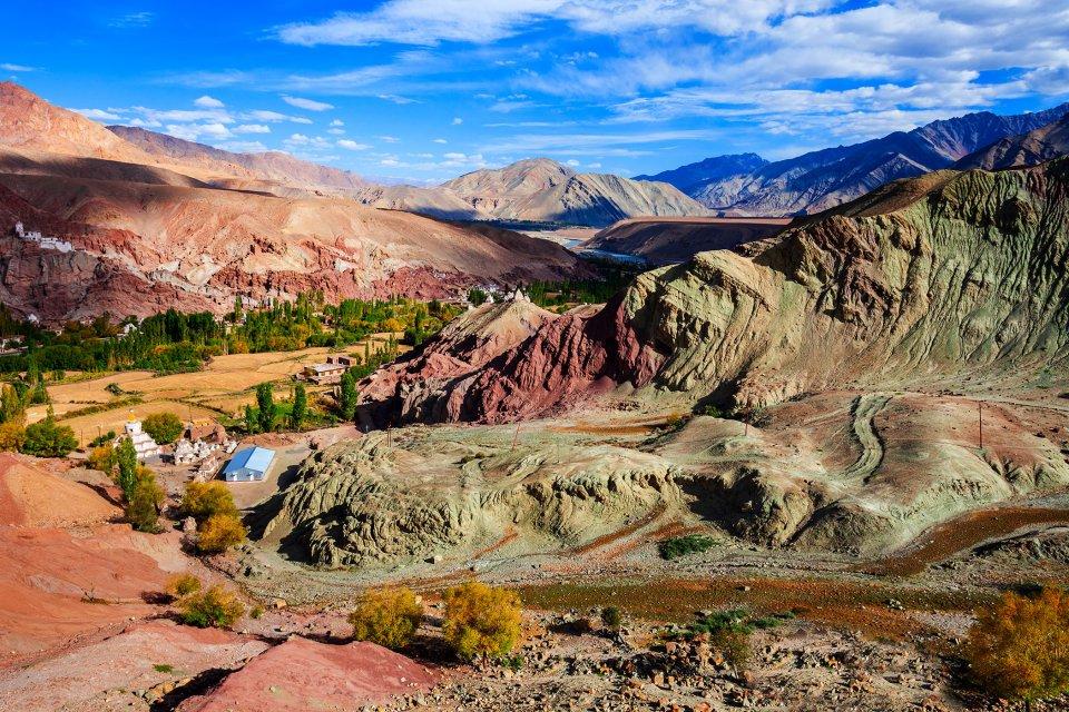 The Ladakh plateau , Ladakh, India , India