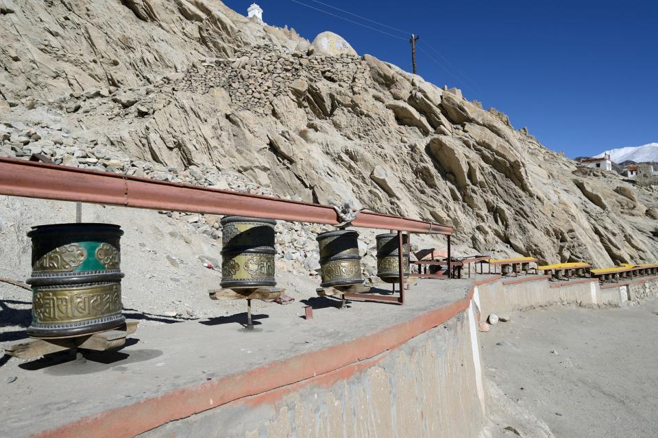 El palacio de Shey (Ladakh) , India