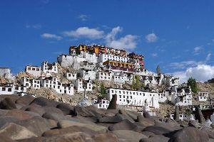 El <EM>gompa</EM> de Tikse (Ladakh) , El gompa de Tikse (Ladakh) , India