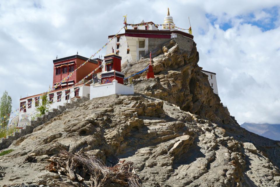 El <EM>gompa</EM> de Tikse (Ladakh) , India