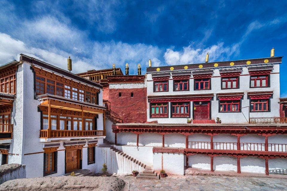 El <EM>gompa</EM> de Matho (Ladakh) , India