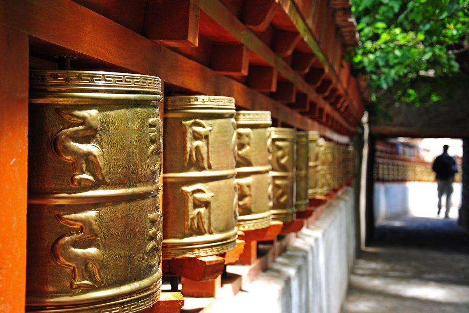 El monasterio de Alchi (Ladakh) , India