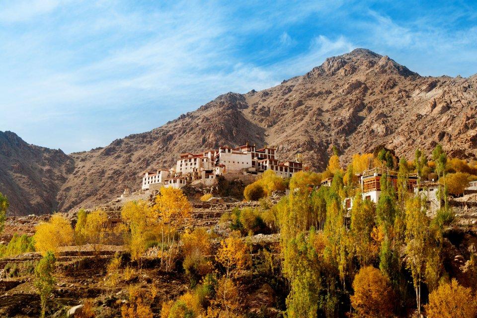 El monasterio de Alchi (Ladakh) , Gompa de Alchi, la India , India