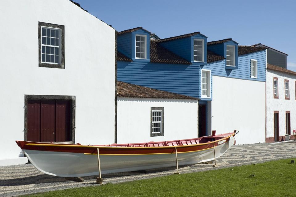 The Museum dos Baleeiros (on Pico) , The Museu dos Baleeiros, the Azores , Portugal