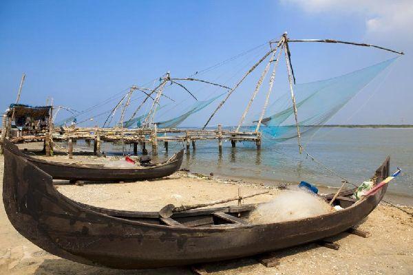 La costa de Malabar , India