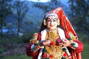Las artes tradicionales en Thiruvananthapuram , La danza de Kerala , India