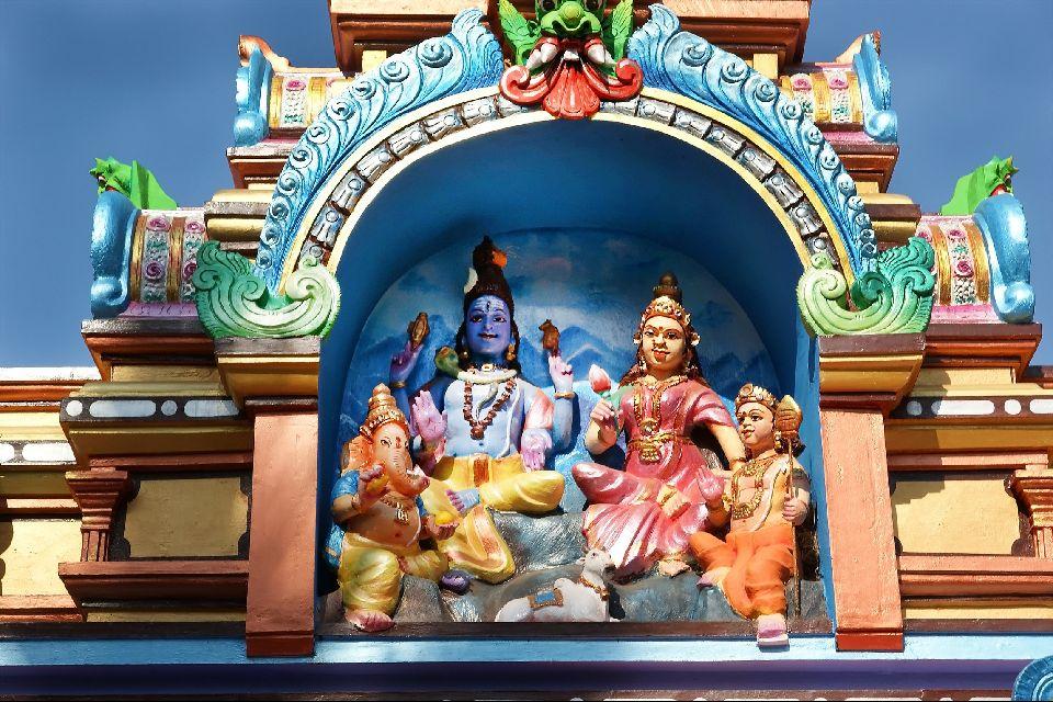 Les Temples Hindous Kerala Inde