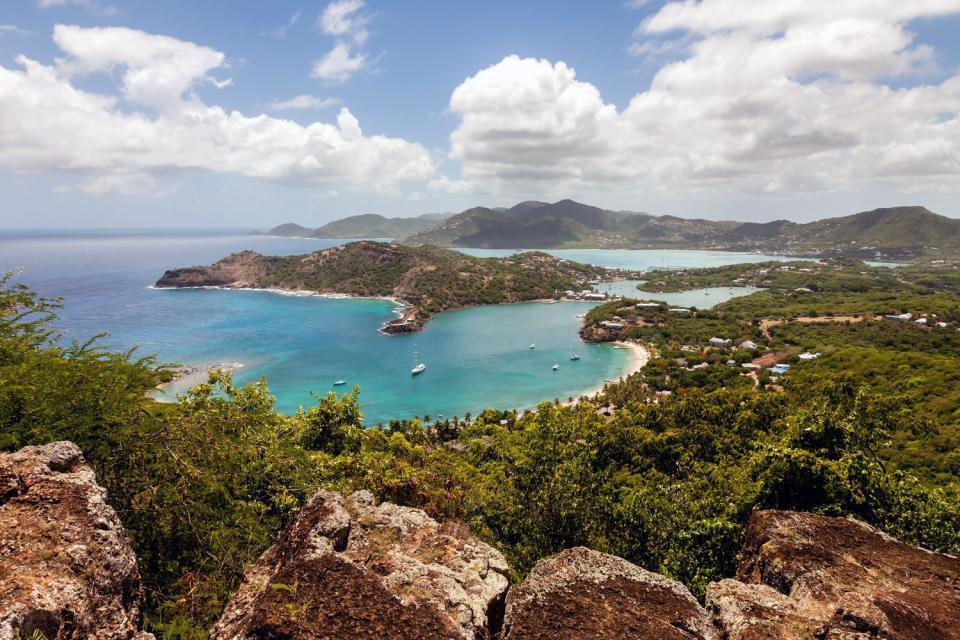 Shirley Heights , La colline de Shirley Heights , Antigua et Barbuda